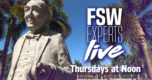 Link to Facebook Live event FSW Experts Live Thursdays at noon.